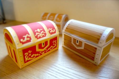 赤箱と木箱もつくれます