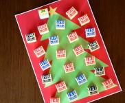 宝箱を開いていくアドベントカレンダー