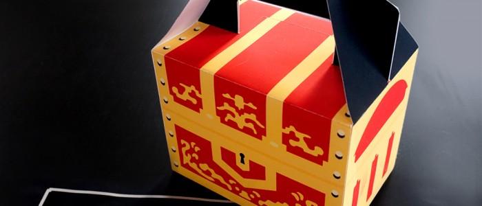宝箱のギフトボックス